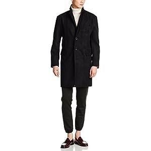[クラブマンチェスター] コート 41086 メンズ ブラック 日本 L-(日本サイズL相当)