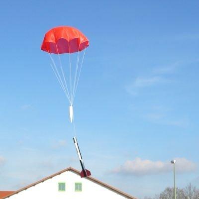 Raketenmodellbau Klima Fallschirm im Durchmesser 55 cm