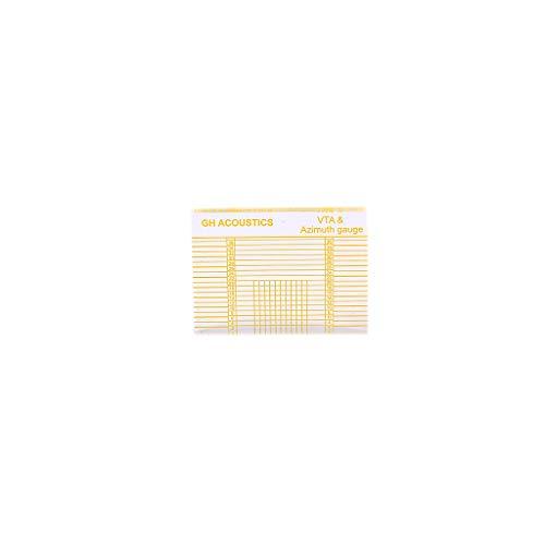 Alnicov LP Vinyl Plattenspieler Messung Phono Tonarm VTA/Patrone Azimut Lineal Balance Patrone Azimut Lineal