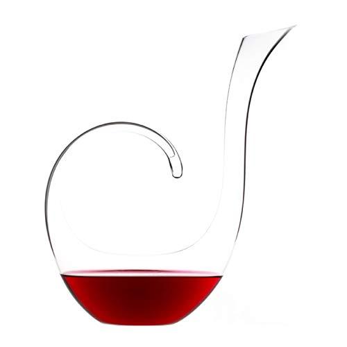 Decantador de vino Personalidad de alta gama Libre de plomo Cristal de cristal Fast Decanter Pourer Separador de vino Separador de vidrio Set de vino de vidrio para restaurante Familia Barra de fiesta