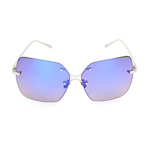 WHSS Sunglasses Gafas De Sol De Oro Púrpura Moda Moda Color Salvaje Película Gafas De Sol (Color : Purple)