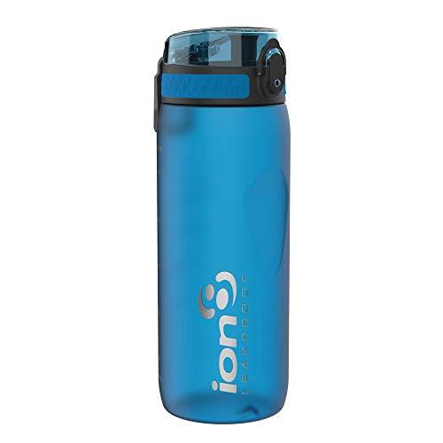 Ion8 Borraccia Bici Senza Perdite, Senza BPA, 750ml, Blu