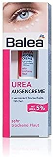 Balea Eye-Contour Cream for Very Dry Skin (5% Urea) - Optimum Hydration, Reduces Dry Lines & Wrinkles- Vegan / Not d on An...
