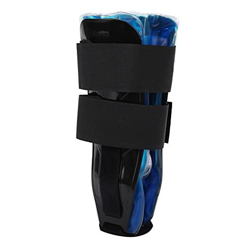 Enkelsteun, enkelspalk Koud en warm kompres Koelgels voor ligamentische belasting voor enkelblessures voor sportarena(black)