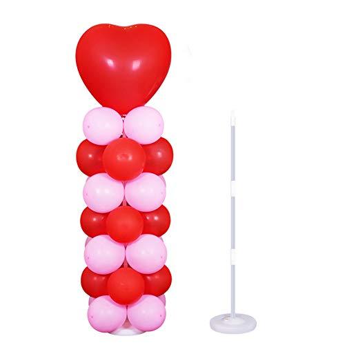 Youlala Soporte para columnas de globo, soporte para globos para decoración de bodas y fiestas de cumpleaños