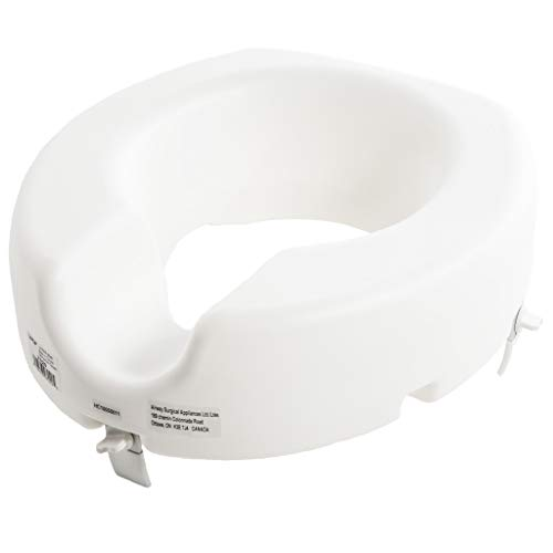 5' Elevated Toilet Seat, Universal Fit,...