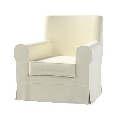 Dekoria Ektorp Jennylund Sesselbezug Sofahusse passend für IKEA Modell Ektorp altweiß
