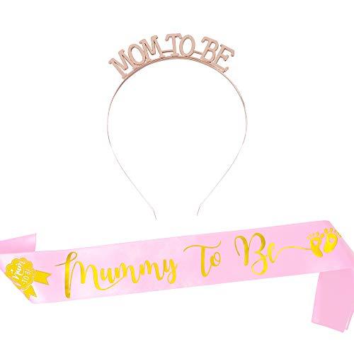 FLOFIA - Partyhüte in Pink, Größe 180 x 9.5cm