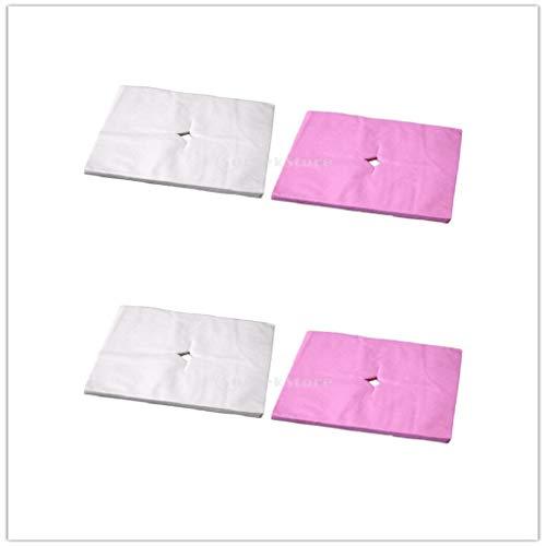 dailymall 400x Massageliegen Nasenschlitztücher Hygieneauflagen für Kopfstützen von Massagestühlen & Massagetischen