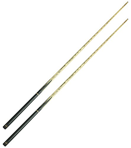 2 x Wollowo 57 Inch White Ash Wood Snooker Pool Cues