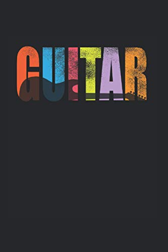 Notebook: Guitar Musician Band Rock Music Bass Gift 120 Pages, 6X9 Inches, Dot Grid