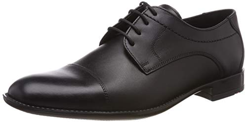 LLOYD Galant, Zapatos de Cordones Derby Hombre, Negro 0, 44.5 EU