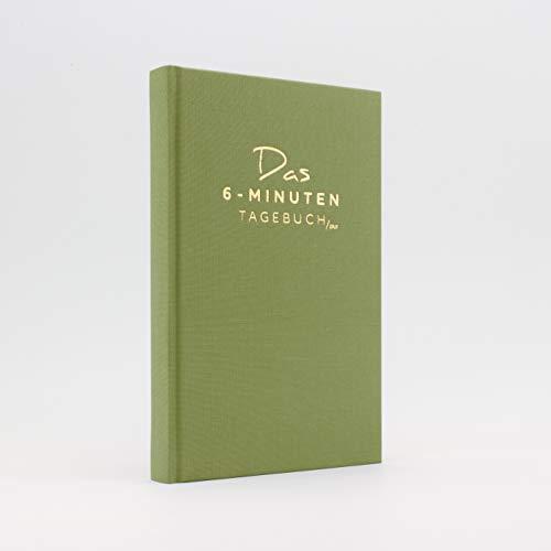 Das 6-Minuten Tagebuch PUR | Dankbarkeitstagebuch, Anti-Stress Tagebuch | Täglich 6 Minuten für deine Persönlichkeitsentwicklung, mehr Selbstliebe & Achtsamkeit (grün)