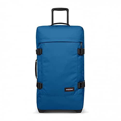 Eastpak Tranverz M Maleta, 67 cm, 78 L, Azul (Mysty Blue)