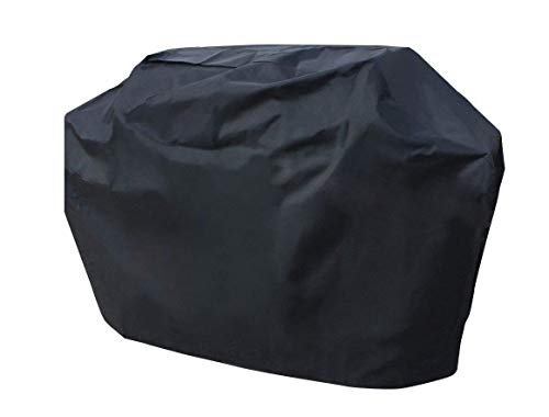 Hongso 58 Inch Barbecue Grill Cover, Heavy Duty 600D Waterproof Gas Grill Covers UV Resistent for Weber Genesis, Charmglow, Brinkmann, Jennair, Uniflame, Lowes, and Other Model Grills