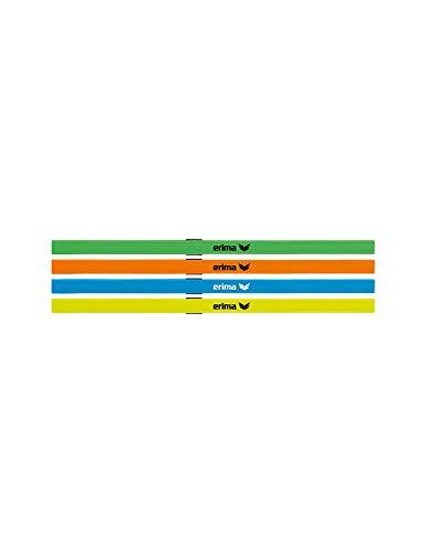 Erima Unisex– Erwachsene Haarbänder 4er Set, Diverse, 1