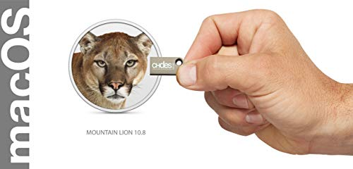 macos mountain lion 10.8 bootfähiger usb bootstick Installationsstick Install upgrade recovery