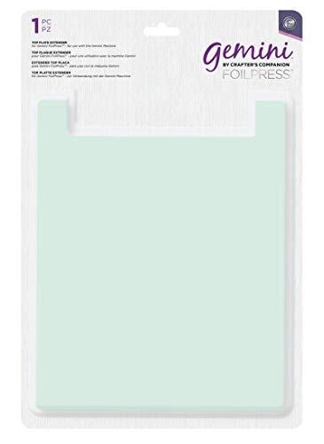 Gemini GEM-FOILP-TPLATEEX Foilpress Obere Platte Extender 1 Stück, Transparent, one size
