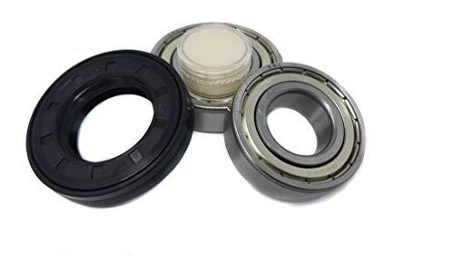 doka - Rodamientos de bolas 6205 6206, junta de eje, 35 x 62 x 11/12,5, lavadora AEG Electrolux
