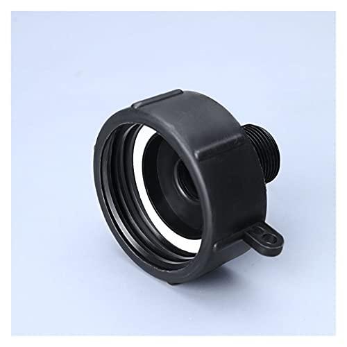 Conectores de agua Accesorios de la válvula de tubería de la manguera de jardín de S60 a 25 mm para los accesorios de la manguera del jardín del tanque de agua IBC de 1000L IBC Adaptador de manguera d