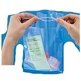 sacchetti a doppia tasca con chiusura a pressione cm.20x30 conf. da 100 pezzi