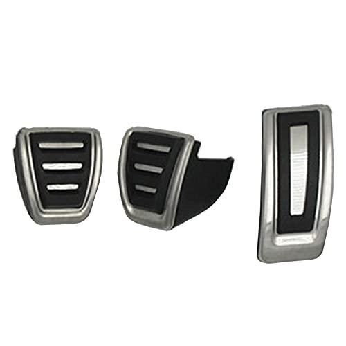MIOAHD Accesorios para automóviles, Cubierta de Pedal de Freno de Combustible Deportivo para Coche, para VW Golf 7, para Seat Leon 5F MK3, para Skoda Octavia A7