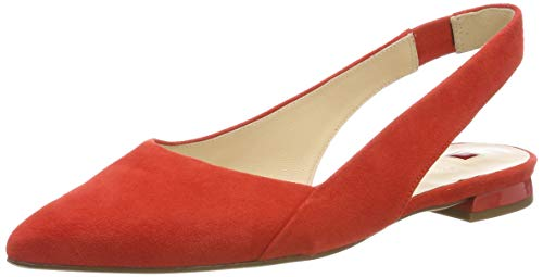 HÖGL Damen Kindly Slingback Ballerinas, Rot (Scarlet 43, 40 EU