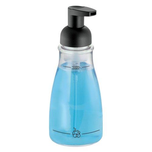 Price comparison product image iDesign Foaming Soap Pump,  Clear / Matte Black