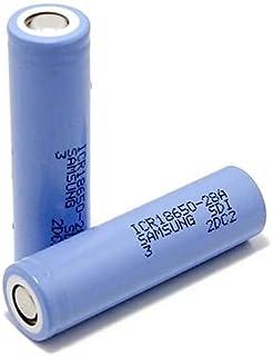 2PCS Samsung 28A 18650 ICR18650-28A 2800mAh li-ion rechargeable battery cell 3.7V