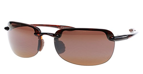 Maui Jim Sandy Beach H408-10 - Occhiali da sole polarizzati, unisex, colore: Marrone