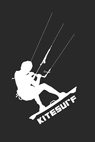Kitesurf Notebook: 6x9inch Kitesurf Notebook Dotgrid