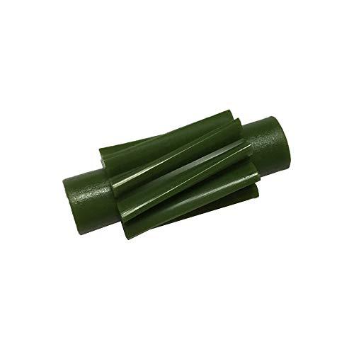 Tachoritzel/Tachoschnecke grün 9 Zähne - für Piaggio Hexagon EXS/EX 125 150 2-Takt (10 Zoll)