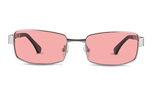 TheraSpecs Haven Migraine Glasses for Light Sensitivity, Photophobia and Fluorescent Lights | Unisex | Indoor Lenses | Black Arms