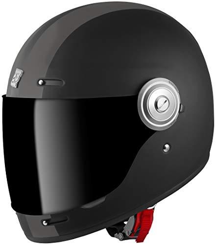 Bogotto V135 D-R2 Helm Schwarz Matt/Grau M