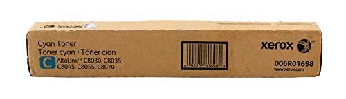 Xerox 006R01698 Tóner de láser 15000páginas Cian tóner y cartucho láser - Tóner para impresoras láser (Tóner de láser, 15000 páginas, Cian, 1 pieza(s))