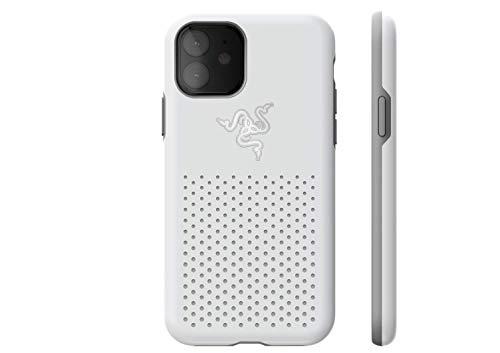 Razer Arctech Pro Mercury THS Edition - für Apple iPhone 11 (Schutzhülle mit Thermaphene Perfürmance Technologie, zertifizierter Schutz bei Stürzen, verbesserte Smartphone Kühlung), Weiß