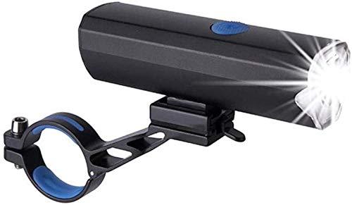 ewrwrwr Bike Lamp Luz de Bicicleta Ultraligera Impermeable USB Recargable Brillo Exterior 5W LED MTB Bicicleta Faro Delantero