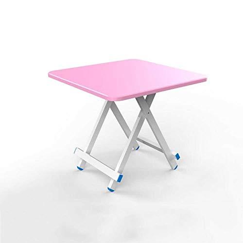 Yuanyuanliu Klapptisch Esstisch Heimtisch Klapptisch Esstisch Einfacher Tisch (Color : T4, Size : 70cm)