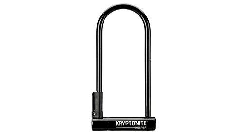 Kryptonite Keeper antirrobo de Bicicleta Unisex, Negro