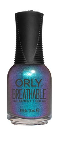 ORLY Breathable Nagellack, 18 ML, Farbe:Türkis, Effekt:Schimmer, Typ:Freudian Flip