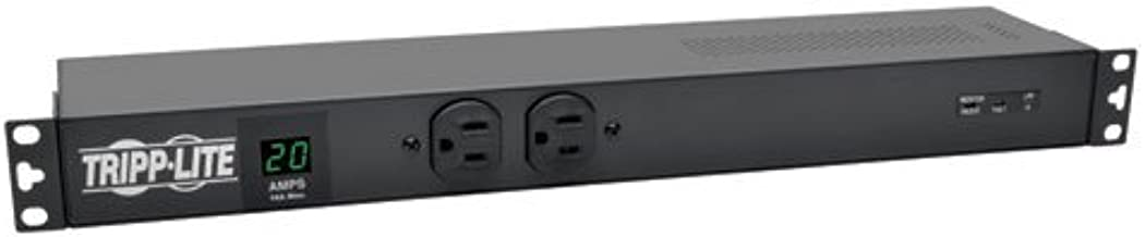 Tripp Lite Metered PDU, 20A, Isobar Surge Suppression 3840 Joules, (12 5-20R, 2 5-15R), 120V, L5-20P/5-20P, 1U Rack-Mount Power (PDUMH20-ISO)