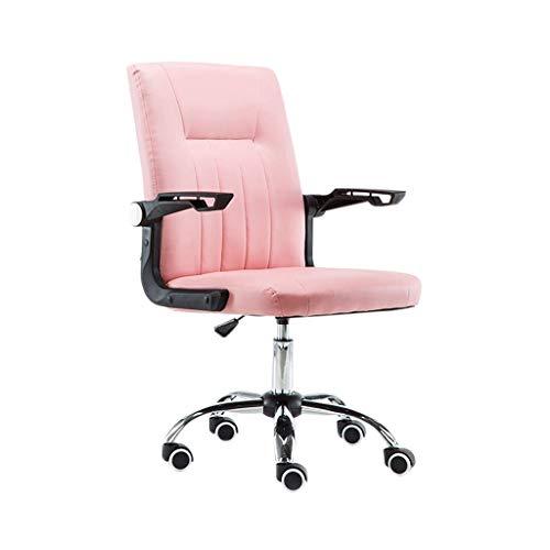 AOYANQI-Sillas de escritorio Silla de entretenimiento, silla fácil de limpiar Silla resistente al desgaste Escritorio de la computadora y silla Silla de conferencias Silla de oficina Muebles de oficin