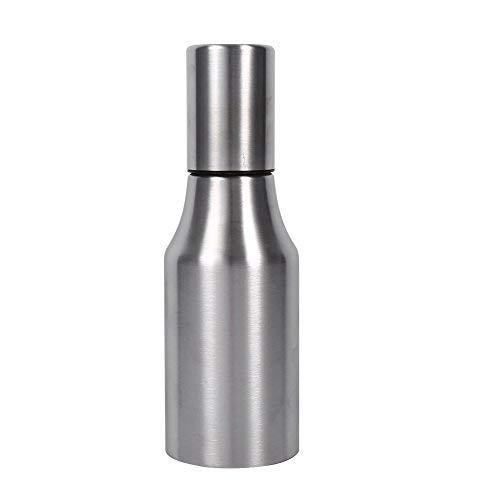 304 Olla de Aceite de Acero Inoxidable Práctica Botella de Dispensador de Aceite A Prueba de Fugas Envase de Aceite Olla Cocina(500ML)