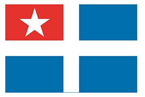 U24 Fahne Flagge Kreta Bootsflagge Premiumqualität 30 x 45 cm