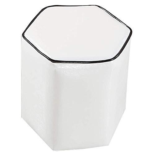 QQXX Opbergdoos, geribbeld, horizontaal, schoenenbox, multifunctioneel, kleine tafel, poten van hout, stabiel, 9 kleuren, hout 36x40x40cm Rt207-g3