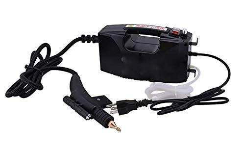 CGOLDENWALL High Temperature High Pressure Steam Cleaner Portable Cleaning Machine Automatic Pumping 1600Wfor Cleaning Kitchen Car etc (Black, Upgrade Type)