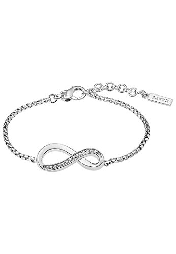 JETTE Silver Damen-Armband 925er Silber 15 Zirkonia One Size 87393607
