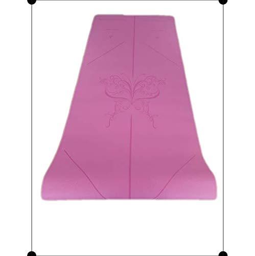 IUGA Halkfri yogamatta med bärrem, miljövänligt & SGS-certifierat TPE-material – luktfritt,...