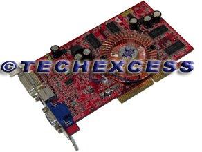 MSI 8951-070 RX9600PRO-TD128 Radeon 9600 Pro 128MB DDR AGP 8X Video Card