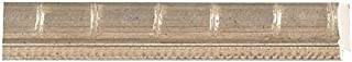 Picture Frame Moulding (Wood) 18ft Bundle - Bamboo Silver Finish - 1.5